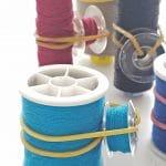 Thread and bobbin storage