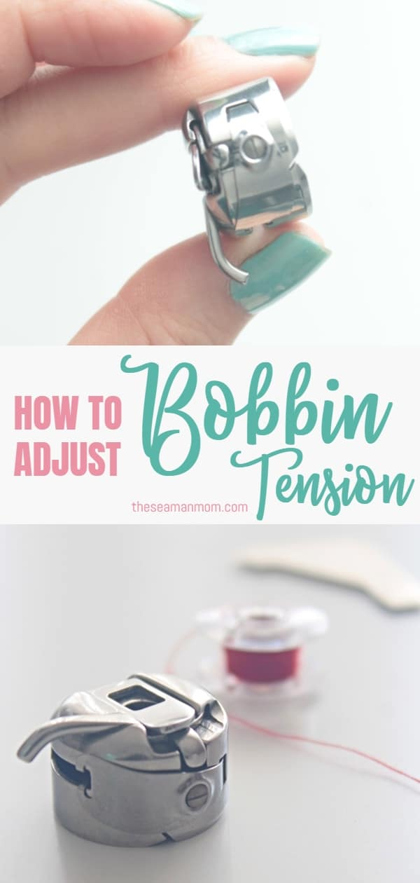 Adjusting bobbin tension