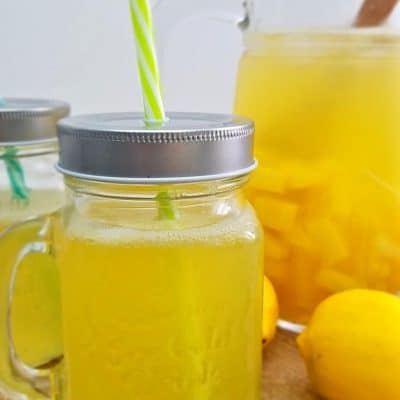 Sparkling Pineapple lemonade Recipe