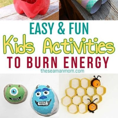 35 Easy kids activities to keep them entertained