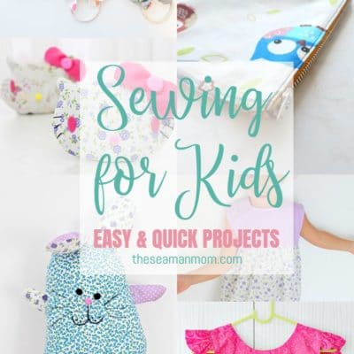 The best 36 SEWING FOR KIDS ideas to make