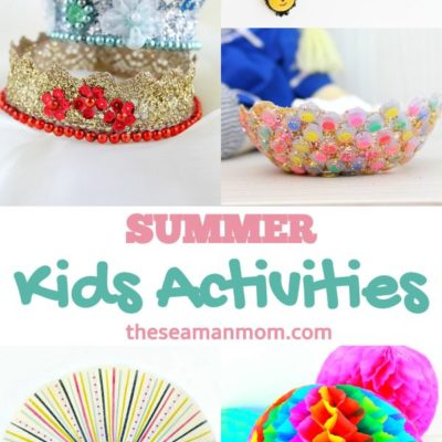 35 Easy crafts for kids to keep them entertained all summer long