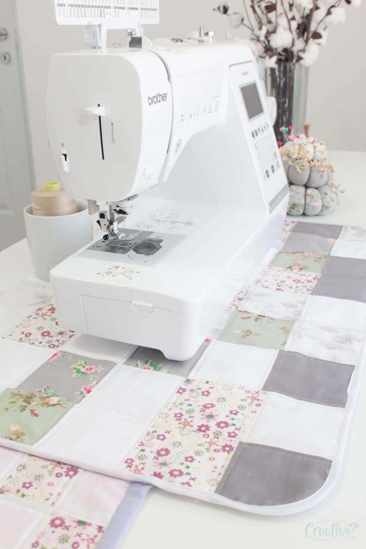 Sewing machine pad