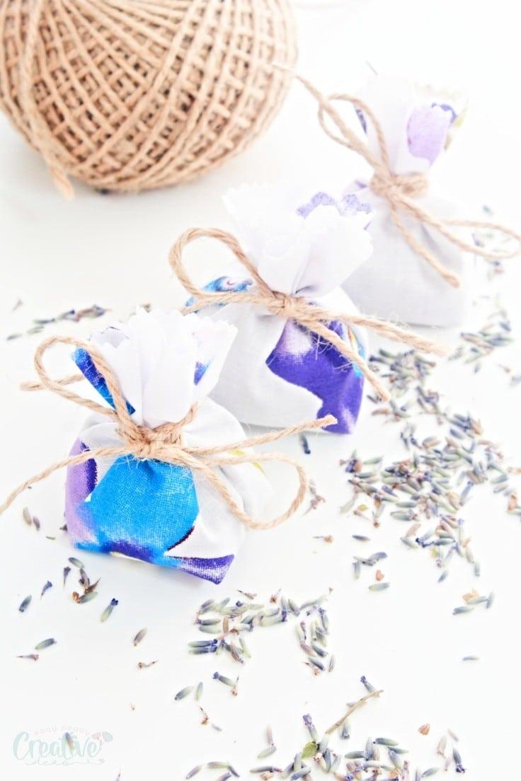 Lavender pouches