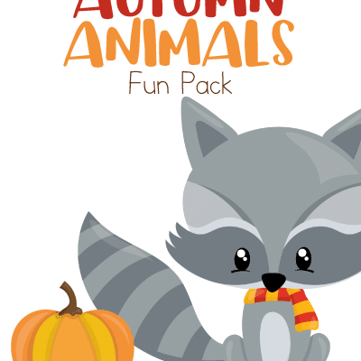 Autumn animals activities pack