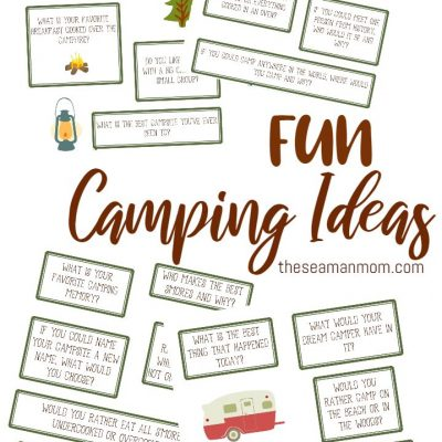 Printable Camping Games Ideas