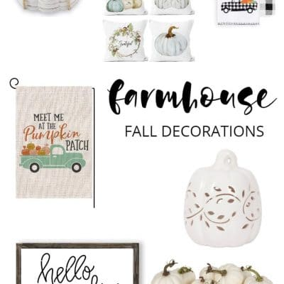 10 Beautiful Farmhouse Fall Decorations to Add to Your Home