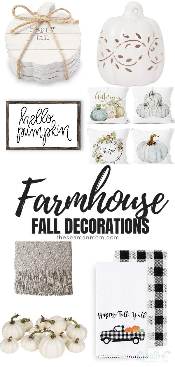 Farmhouse fall decorations