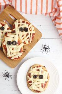 Halloween pizza ideas