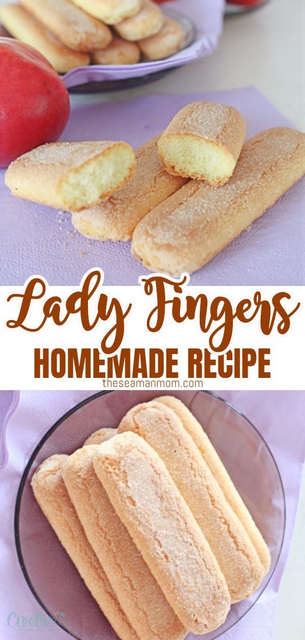 The spongy, airy but crisp lady finger cookies are what makes the Tiramisu cake such a special dessert! Add these amazing lady finger biscuits to your baking collection with this simple and easy to make recipe! via @petroneagu