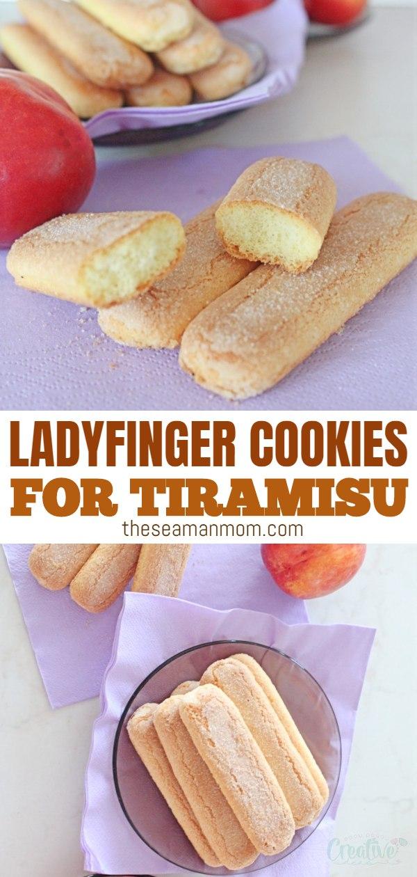 Ladyfinger cookies
