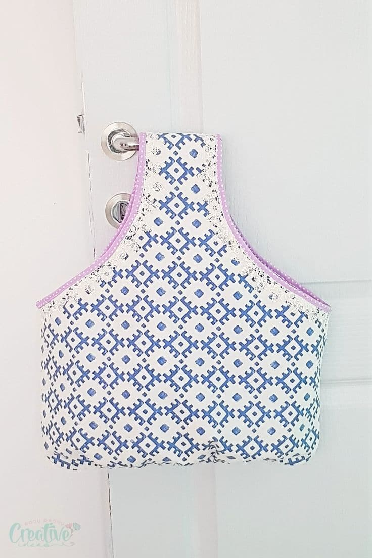 Reversible shopping bag pattern