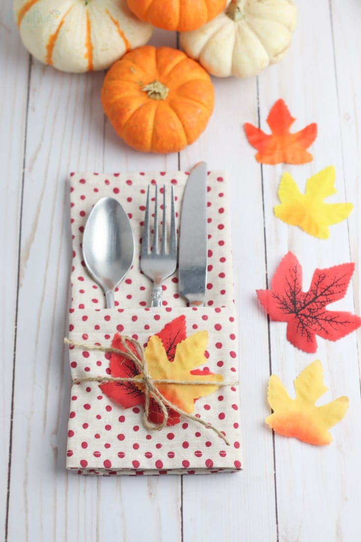 DIY cutlery holder