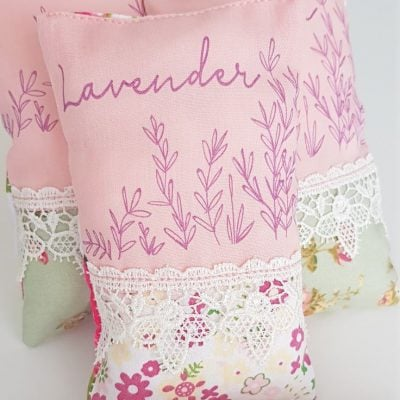 DIY lavender sachets sewing tutorial
