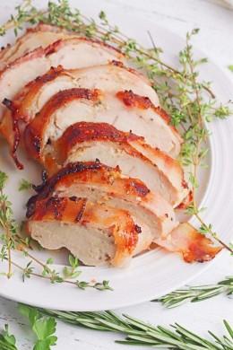 Bacon wrapped turkey recipe