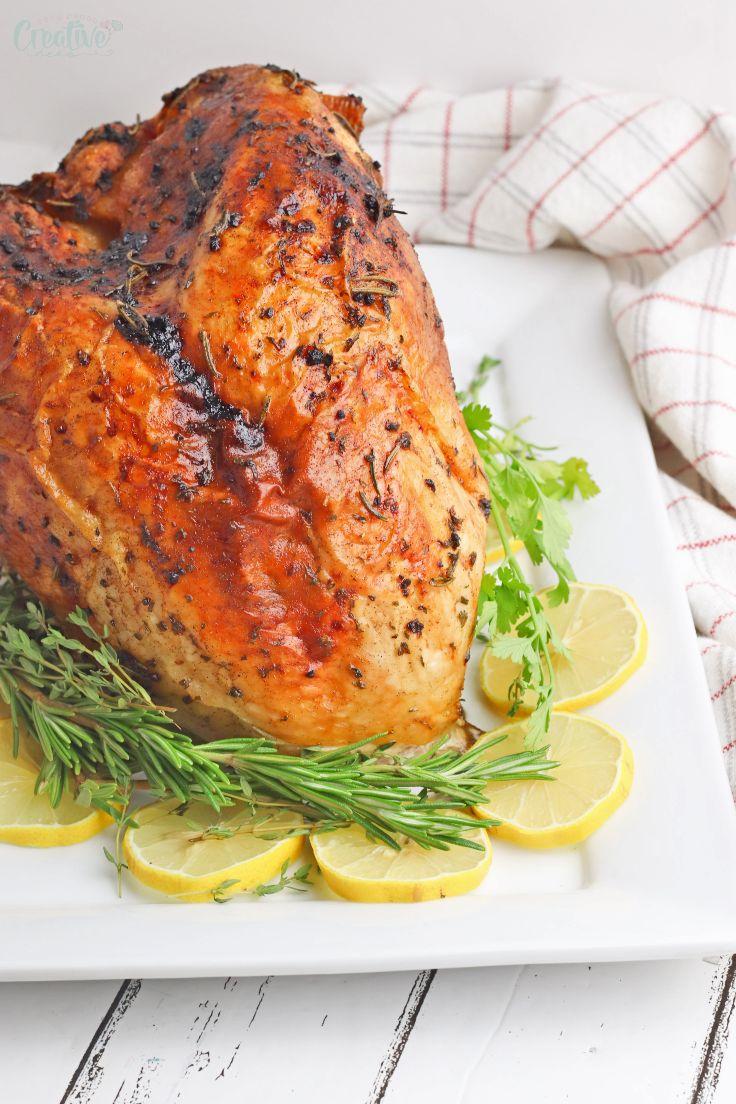 Baked turkey breast recipe