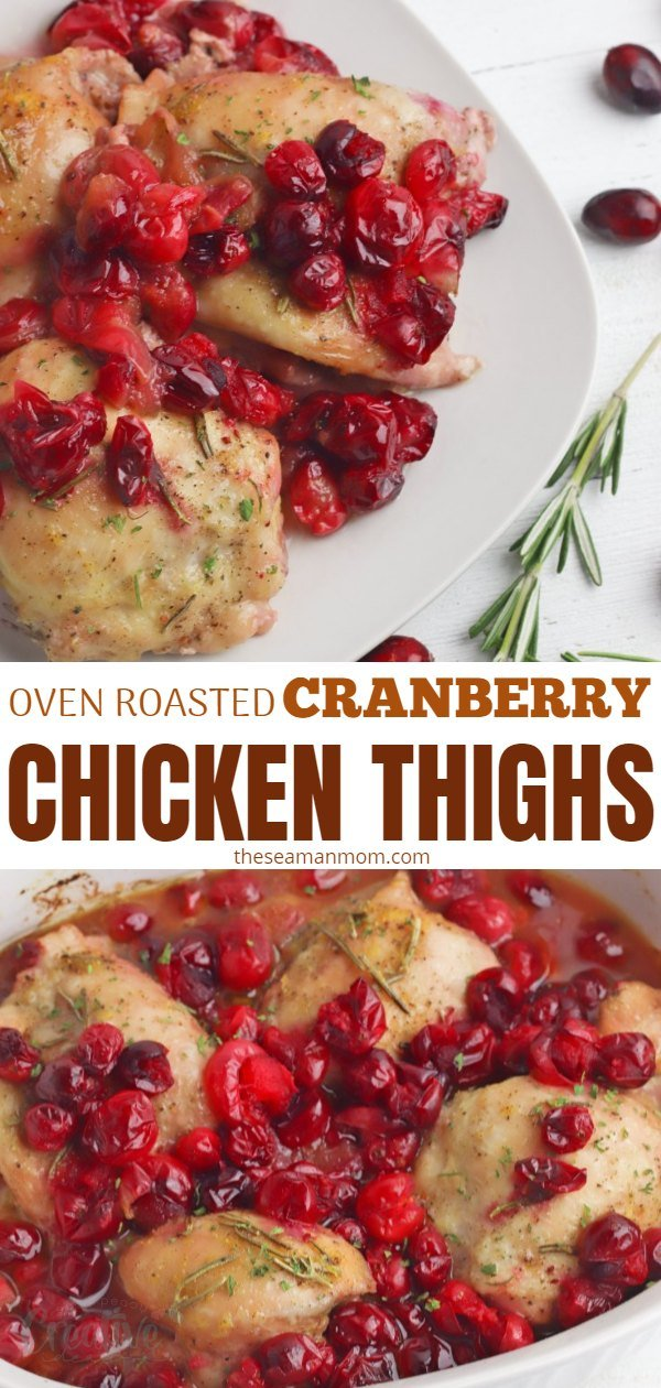 Cranberry chicken thighs
