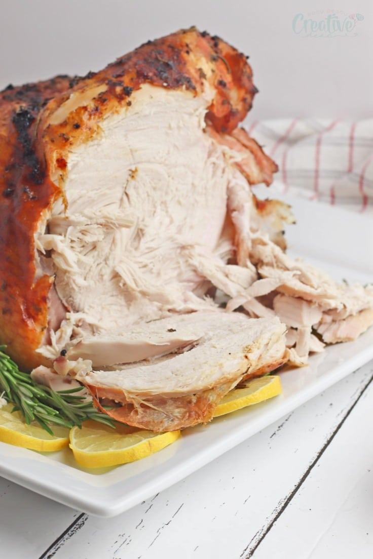 Lemon turkey breast