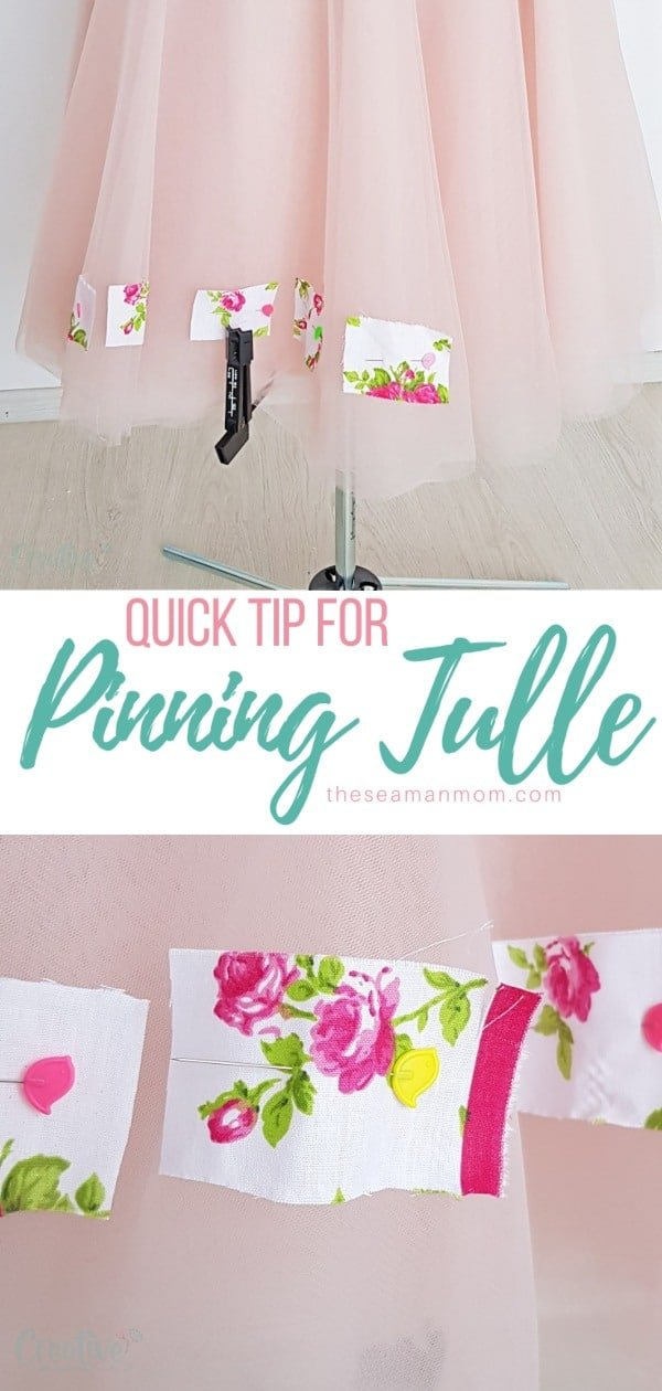 Hemming tulle and other thin, slippery fabrics can be tricky and time consuming, especially when dealing with multiple layers. Here we'll share a quick tip that will help you cut, hem and sew tulle without any hassle! via @petroneagu