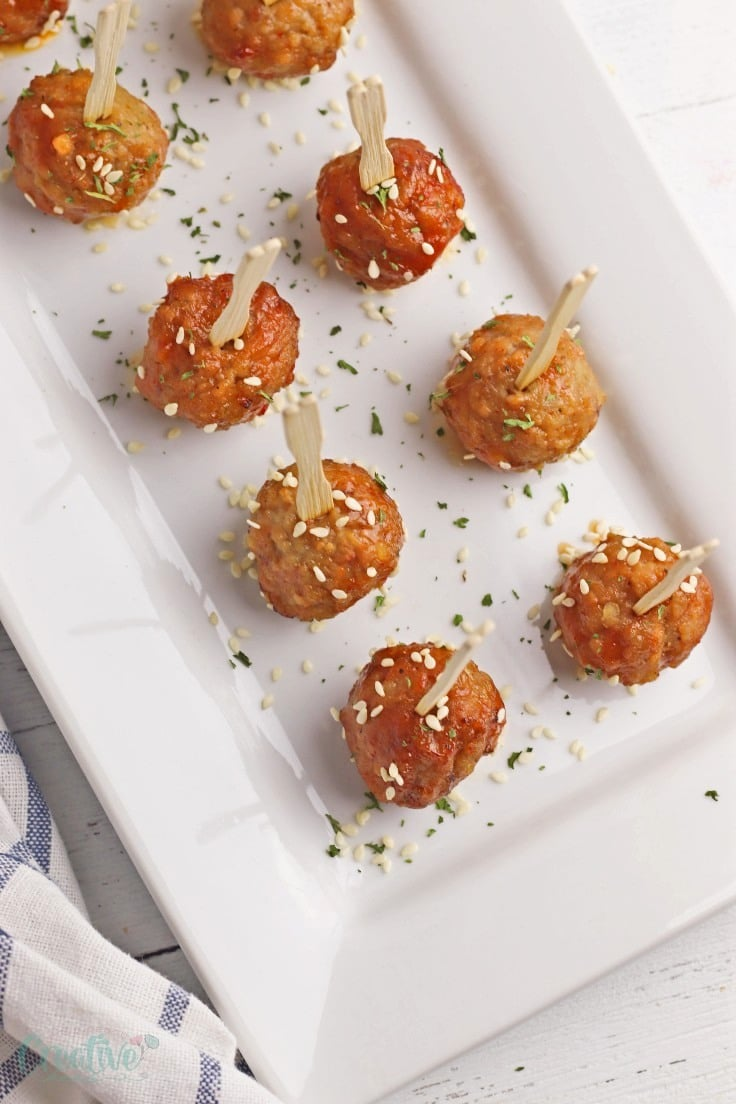 Asian style meatballs