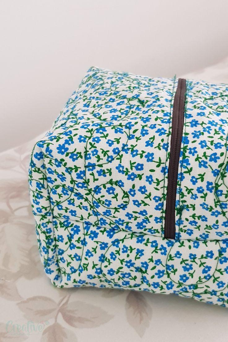 Box zipper pouch