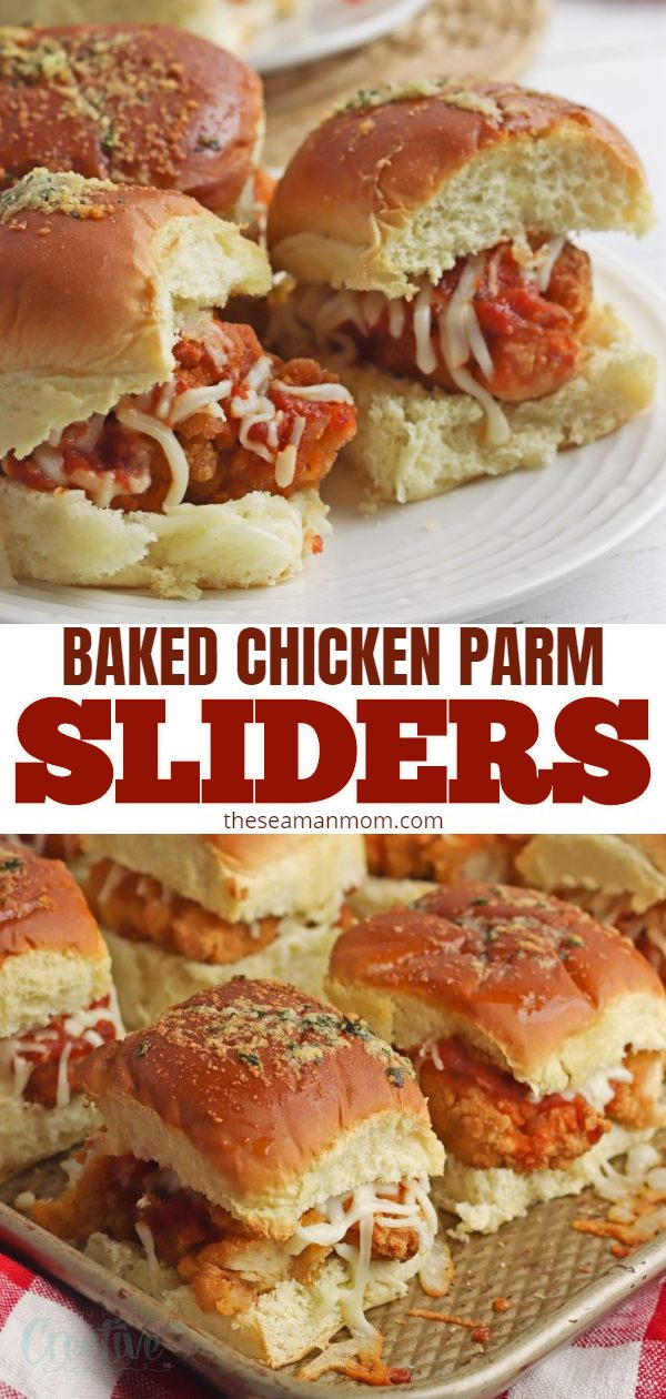 If you're looking for a great finger food for a party, chicken Parmesan sliders are perfect for any get-together! These flavorful chicken parm sliders won't disappoint! via @petroneagu