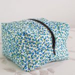Fabric zipper pouch