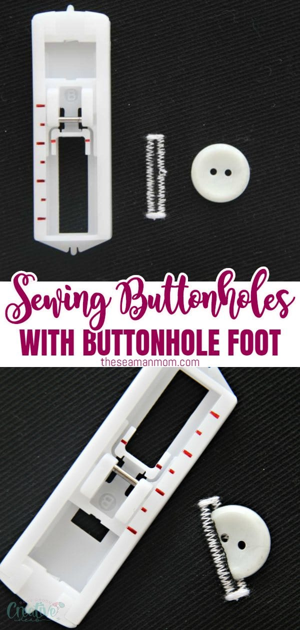 Sewing buttonholes doesn't have to be scary and a reason to put off projects that involve buttonholes! In fact, it's so easy peasy when you get to use a singer buttonhole foot as I did. Here's a simple and quick tutorial on how to make button holes, perfect for sewers of all levels! via @petroneagu