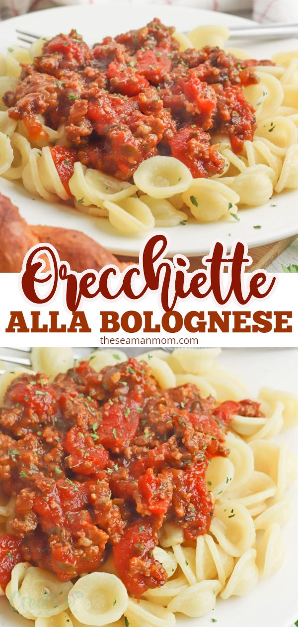 If you've never heard of orecchiette bolognese I'm here to tell you this is one of the most comforting, delicious and hearty dishes! This kind of pasta bolognese is so simple, easy and convenient to make when you're craving comfort food! via @petroneagu