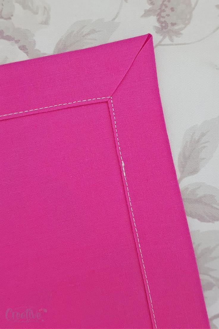 How to make mitered corners
