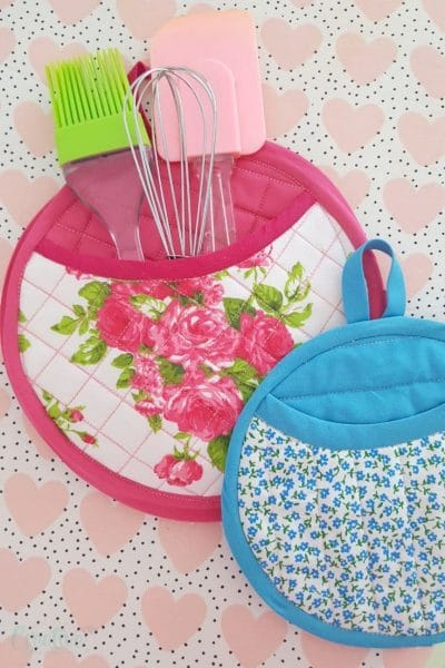 Quilted potholders pattern