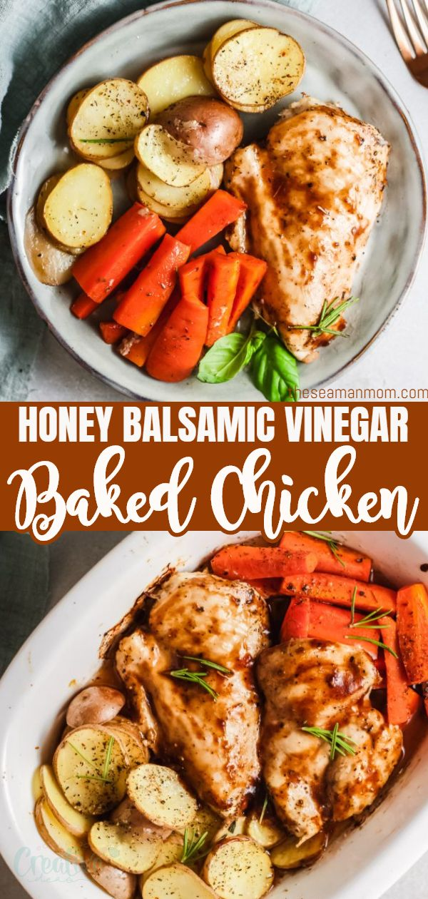 This baked balsamic chicken with veggies is the perfect weeknight meal! Made using only one pan and ready in 30 minutes this will become your go to recipe. Best of all? The result is super flavorful and juicy! via @petroneagu