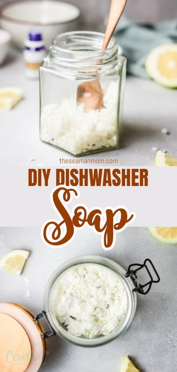 DIY dishwasher soap