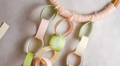 How to make a paper chain