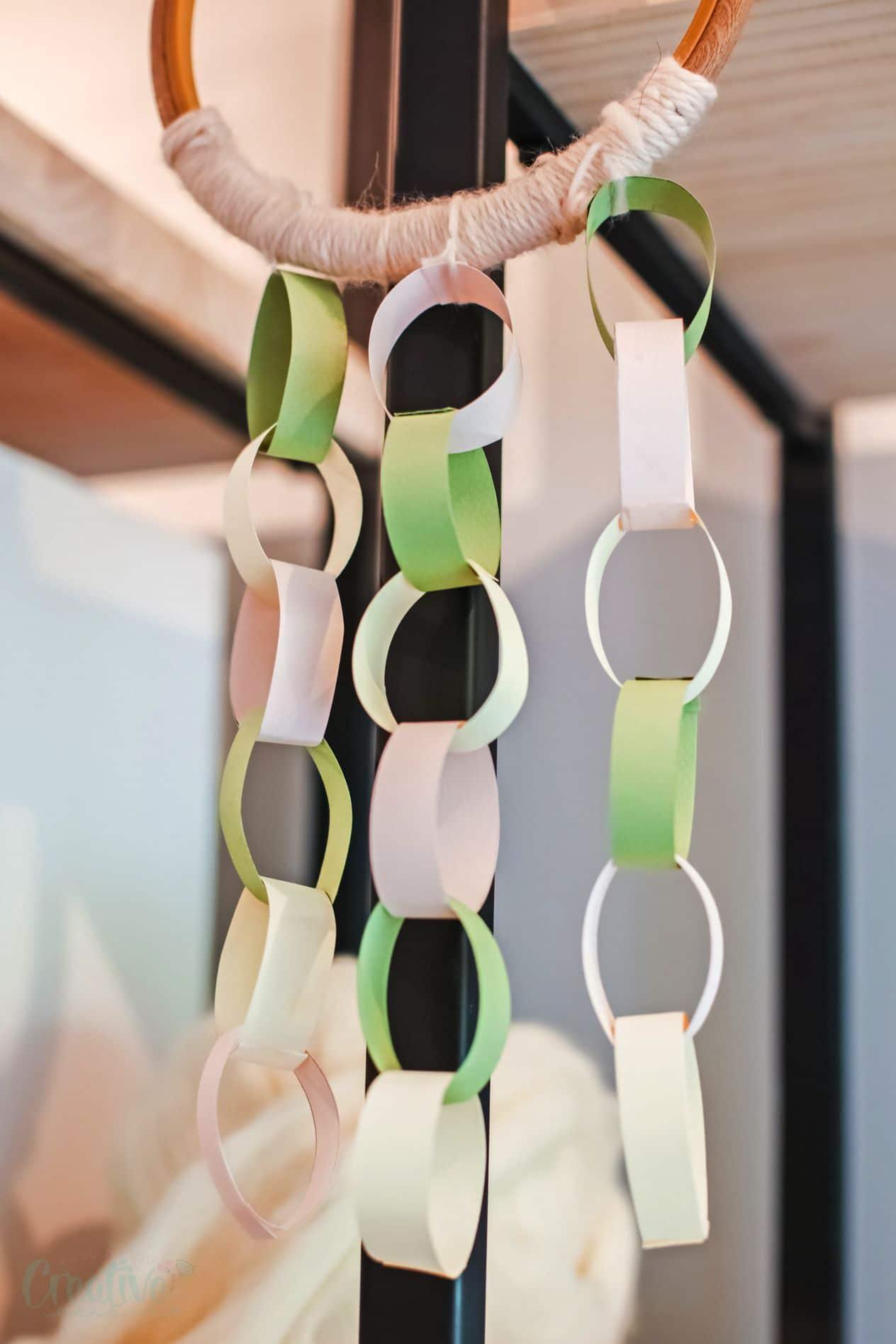 Paper chain craft