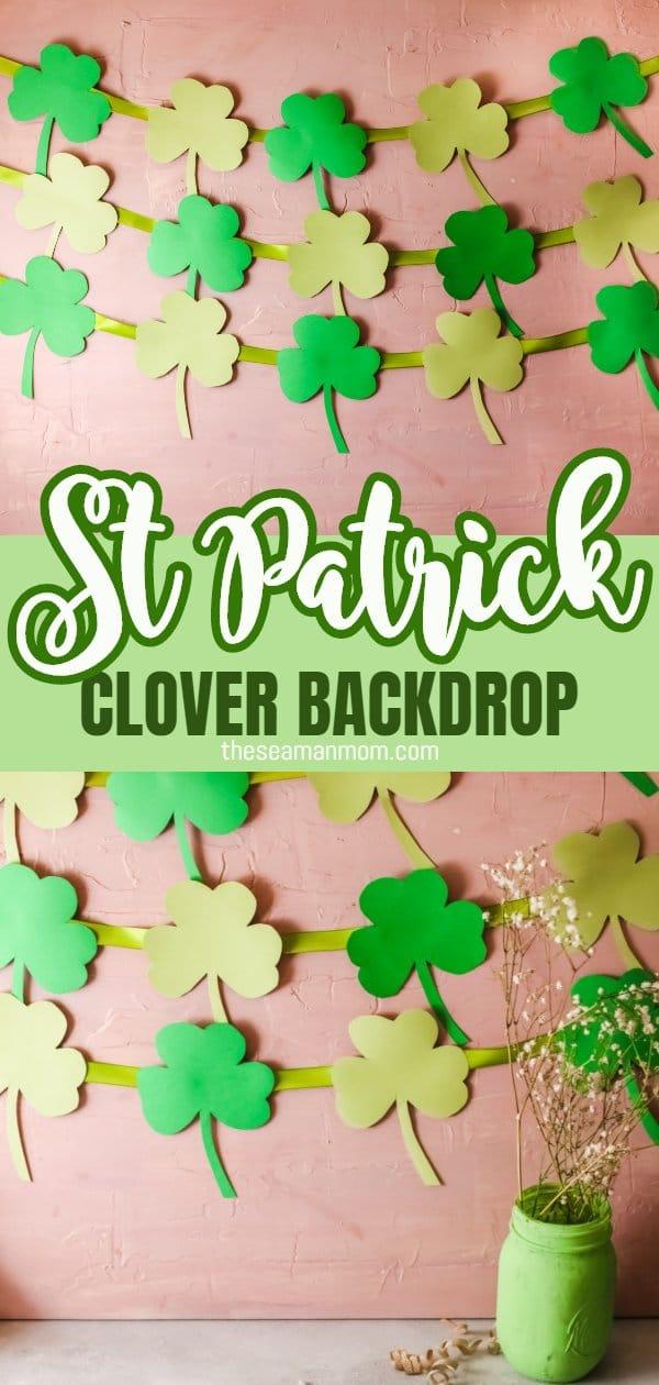 St Patrick backdrop