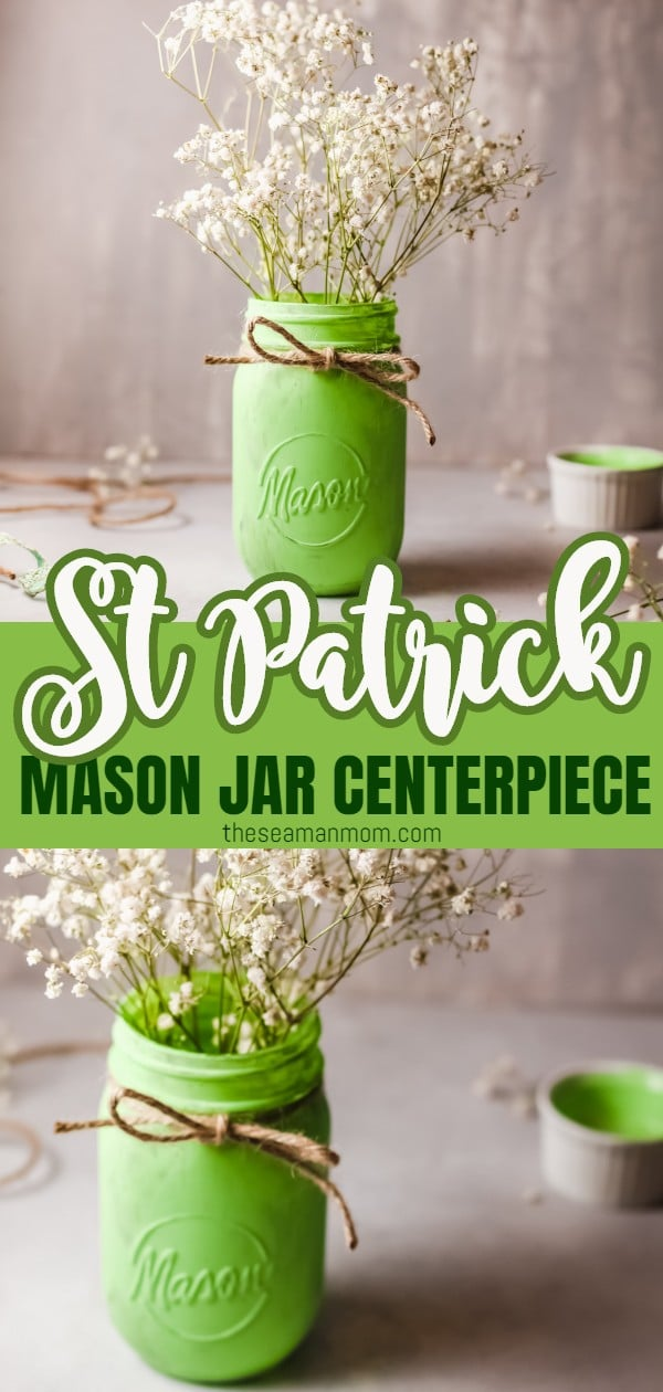 St Patrick day centerpiece