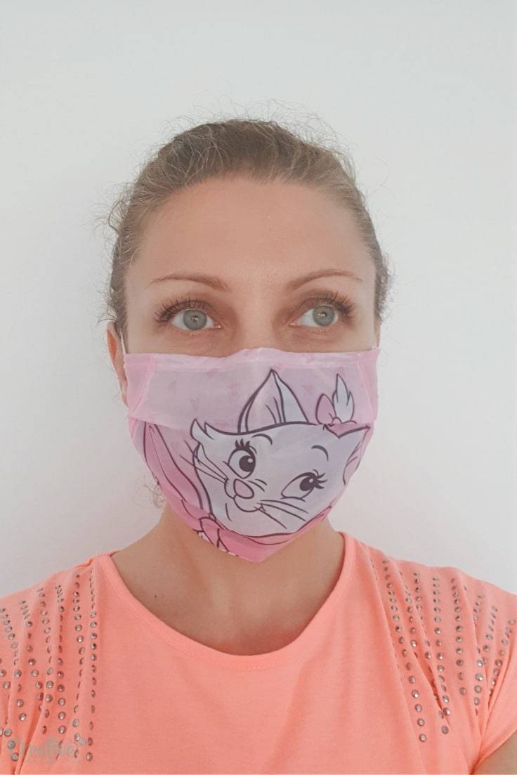 Fabric face mask pattern