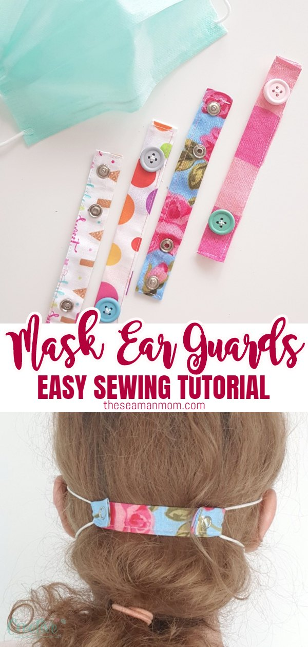 The elastic ties on masks can become painful when wearing them for many hours straight, so workers in hospitals need a solution! Here is a tutorial for creating very easy and quick DIY ear savers two ways. Medical workers will be excited about the huge ear pain relief! via @petroneagu