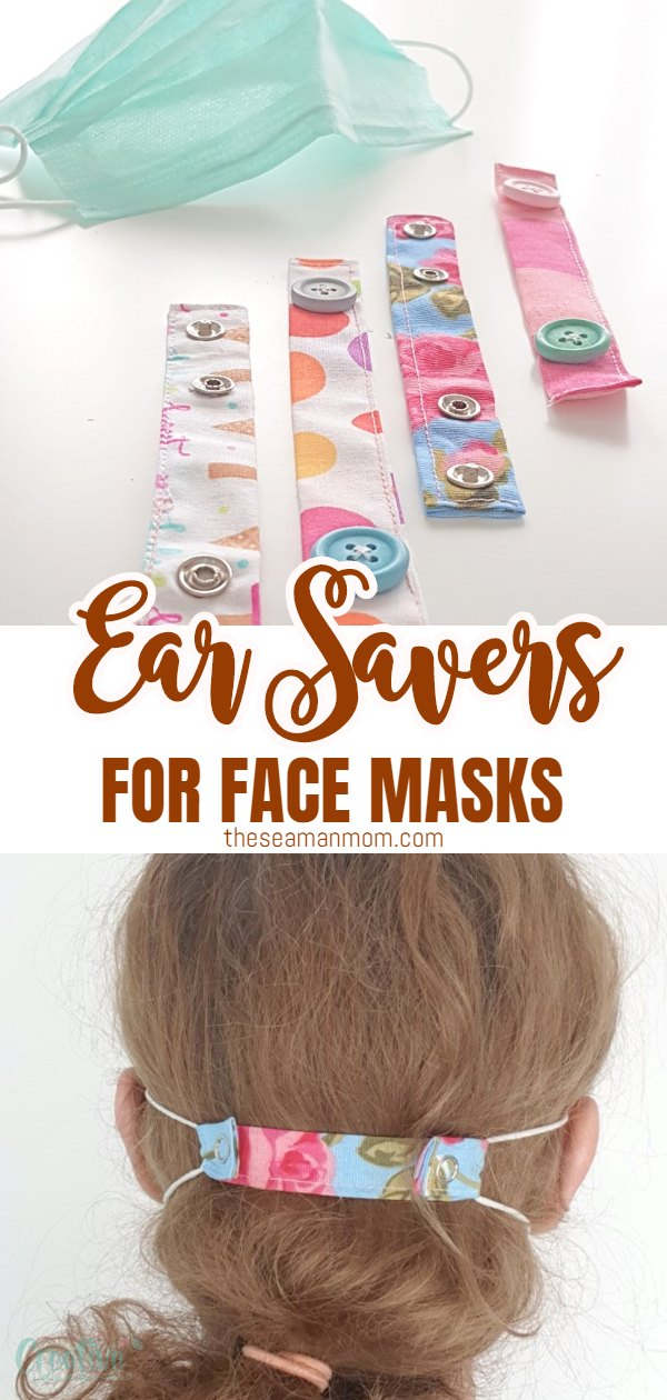 The elastic ties on masks can become painful when wearing them for many hours straight, so workers in hospitals need a solution! Here is a tutorial for creating very easy and quick ear savers DIY, two ways. Medical workers will be excited about the huge ear pain relief! via @petroneagu
