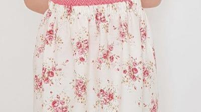 Gathered skirt with elastic waist