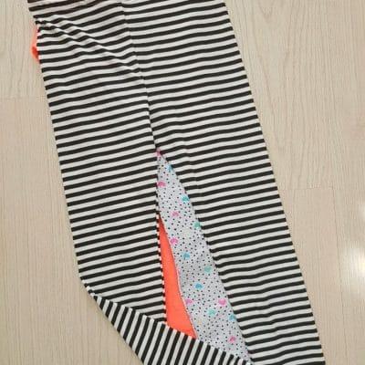 Free girls leggings pattern