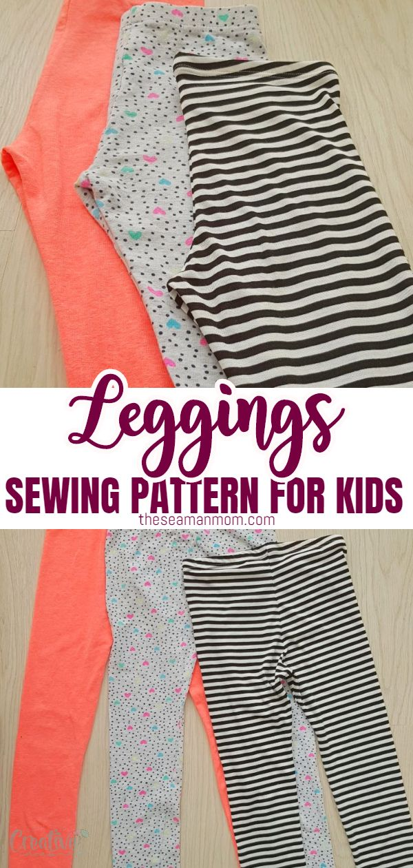 Leggings are the most comfortable thing to wear while on the move, so kids always love them! They are great for sports, playtime or for wearing around the house. In this tutorial, I'm going to show you how to make comfy leggings for kids with my super easy girls leggings pattern. via @petroneagu
