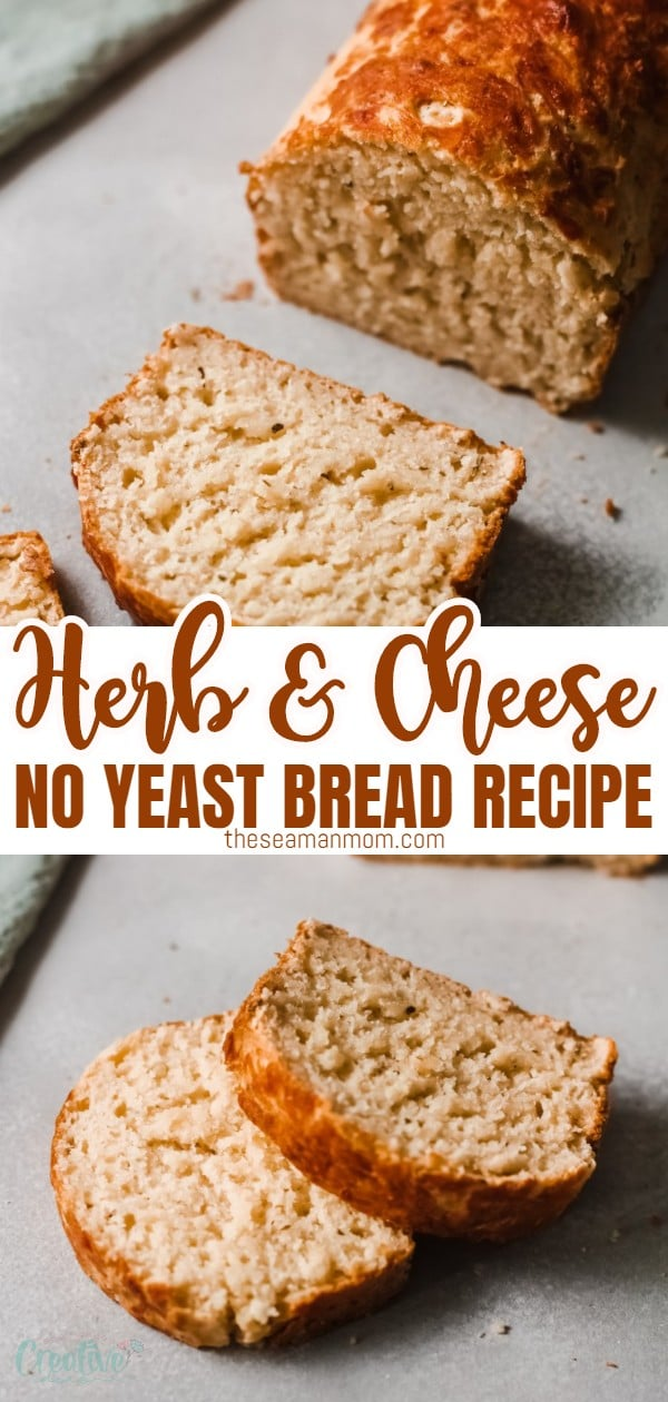 This homemade herb and cheese bread is super soft and easy to make! Totally stuffed with cheese and herb flavors, this Italian herb and cheese bread is the perfect soft bread to go with soups, pastas or to eat toasted with some garlic butter. The perfect complement to any meal! via @petroneagu