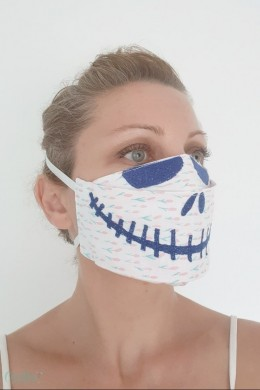 Halloween face mask pattern