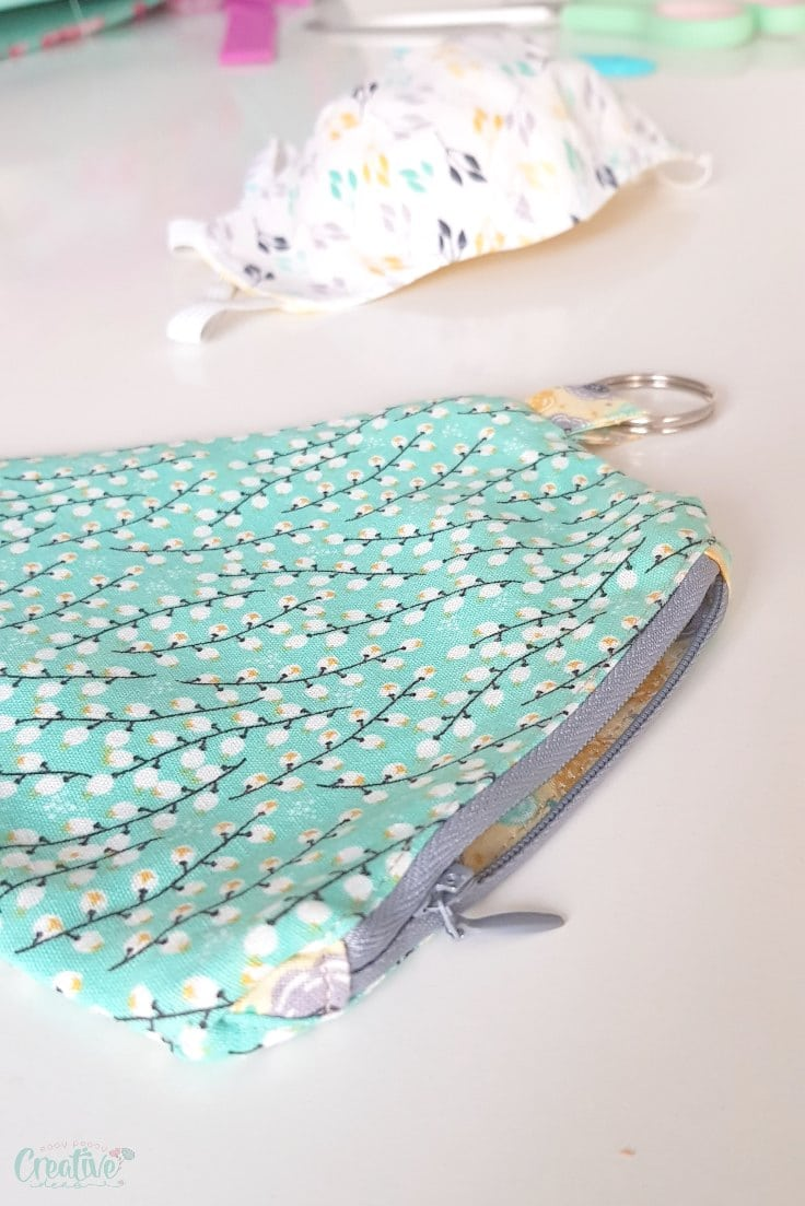 Mask pouch pattern