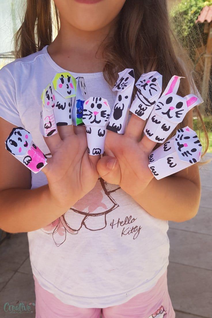Finger puppets DIY