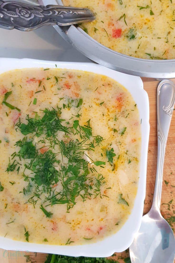Greek lemon soup