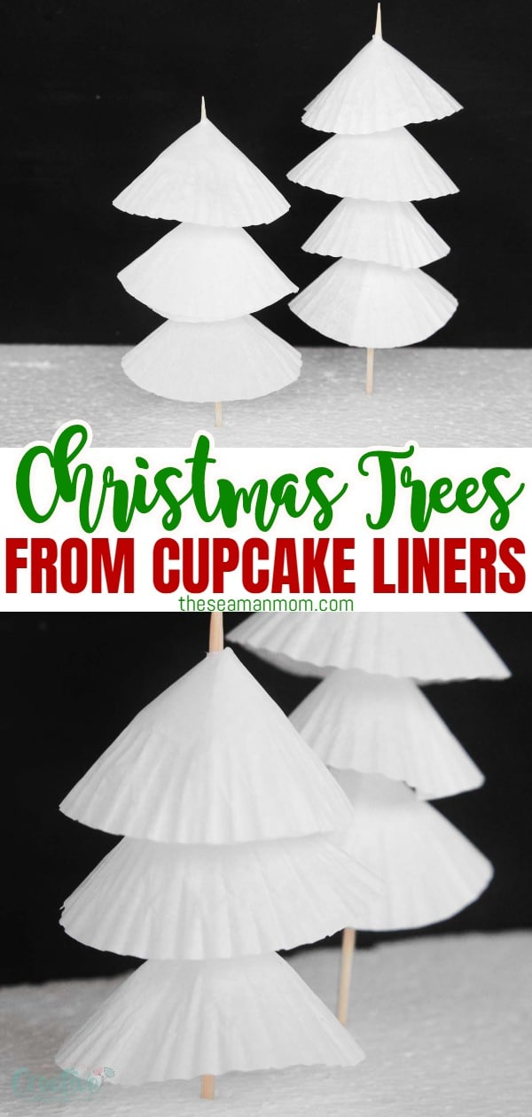 Paper crafts are fun for everyone! Make these easy peasy, adorable paper Christmas trees decorations to hang around the house or as a centerpiece for your Christmas table! via @petroneagu
