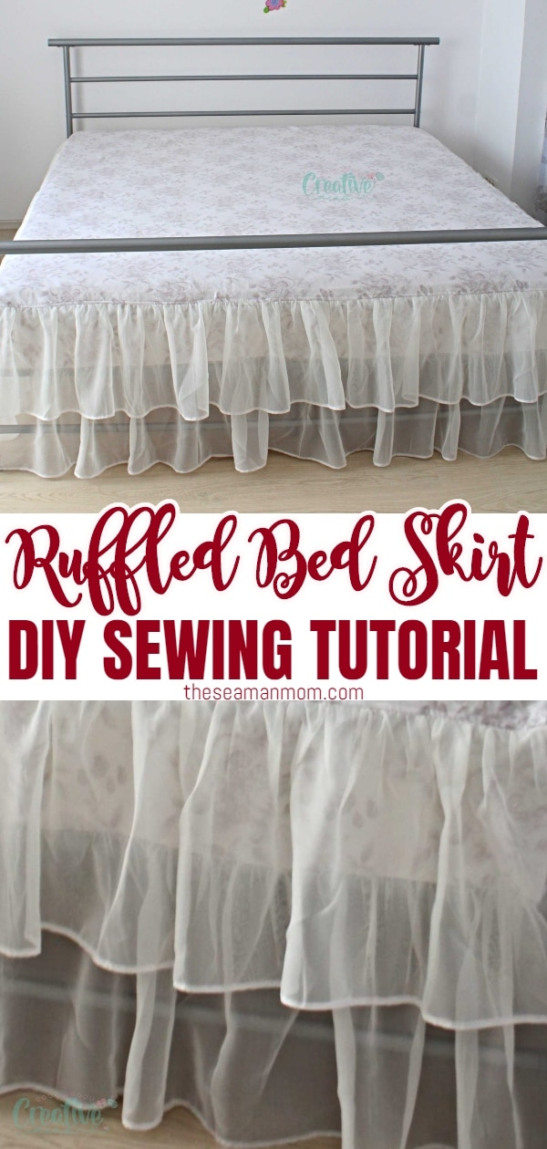 Easiest Way To Sew A Diy Bed Skirt Easy Peasy Creative Ideas